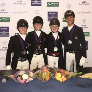 Adequan NAYC FEI Young Rider Team Silver medal, 2017