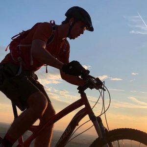 Mountain biking, Red Rock, CA