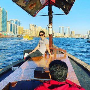 Sightseeing in Dubai, UAE