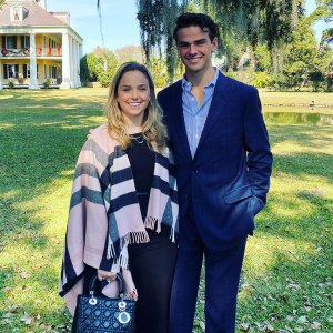 With his sister, Olivia, New Orleans, LA