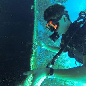 Diving in Aruba, Dutch Antilles 2018